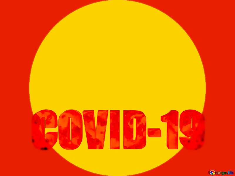 Yellow frame Corona virus Covid-19 Coronavirus disease 2019 2020 №54732