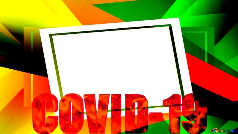 Template frame Covid-19 Coronavirus №54732