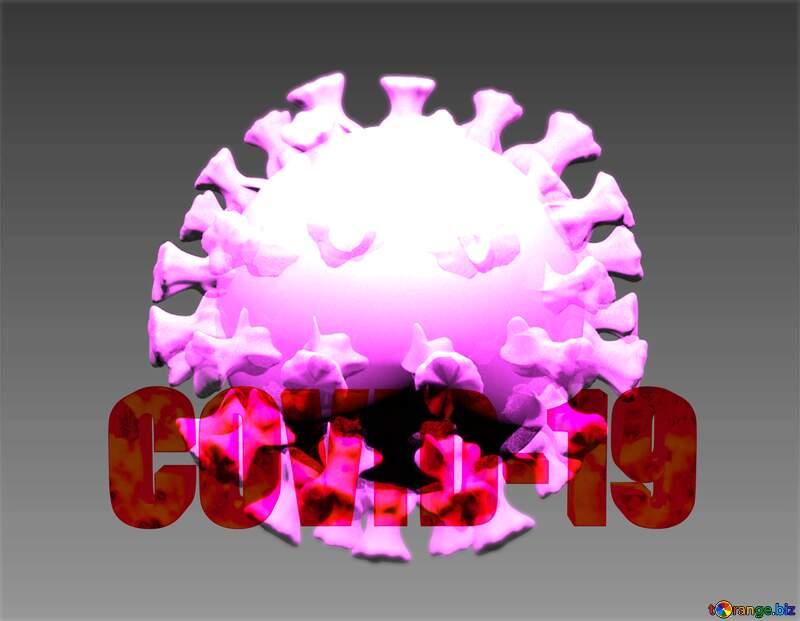 Covid-19 Coronavirus art 3D render №54735