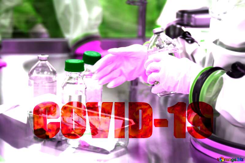 Covid-19 Coronavirus doctor science lab №54587