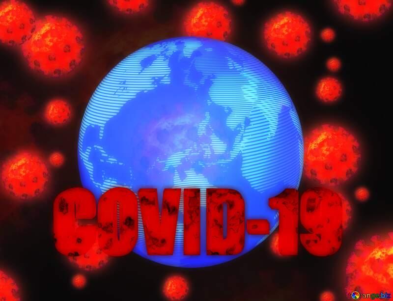 Earth world Corona virus Coronavirus dark background №54739
