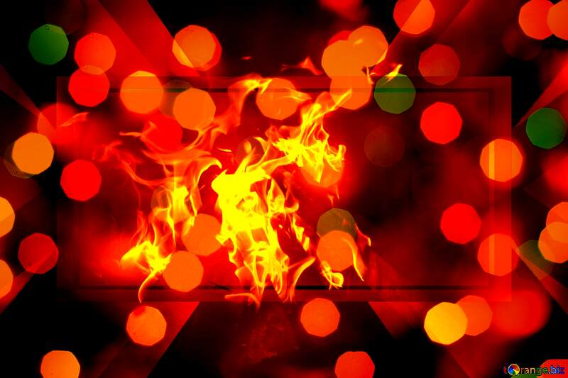 Fire powerpoint website background №24617