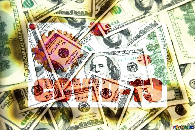 Dollars frame picture covid 19 corona virus background blur №1507