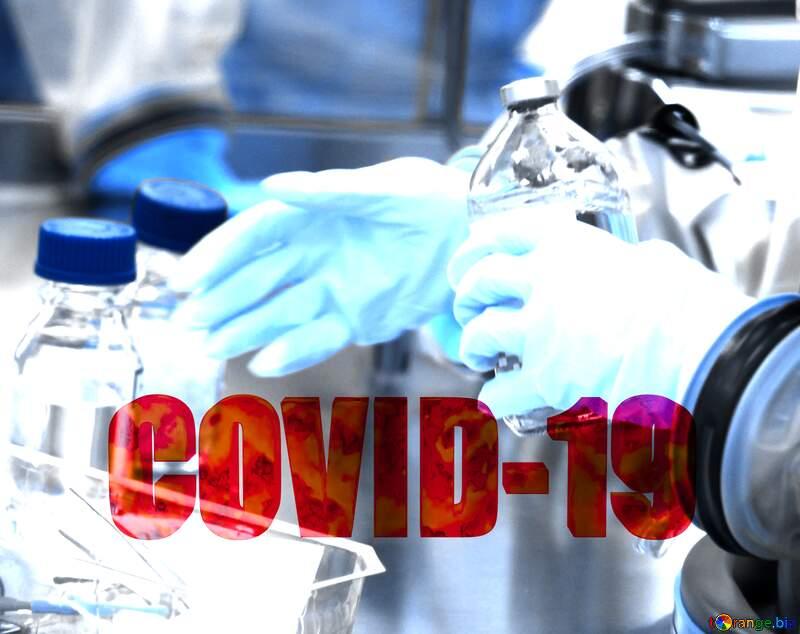 Gloves Covid-19 Coronavirus science lab №54587