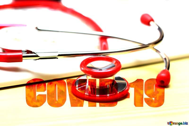 Modern Doctor 3d text Corona virus Covid-19 Coronavirus disease 2019 2020 №19742