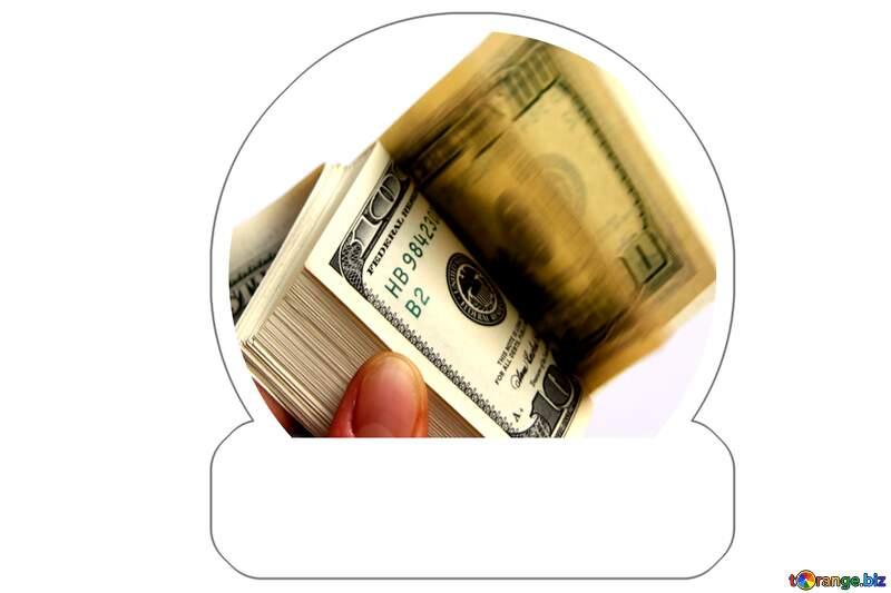 Money sticker №1523