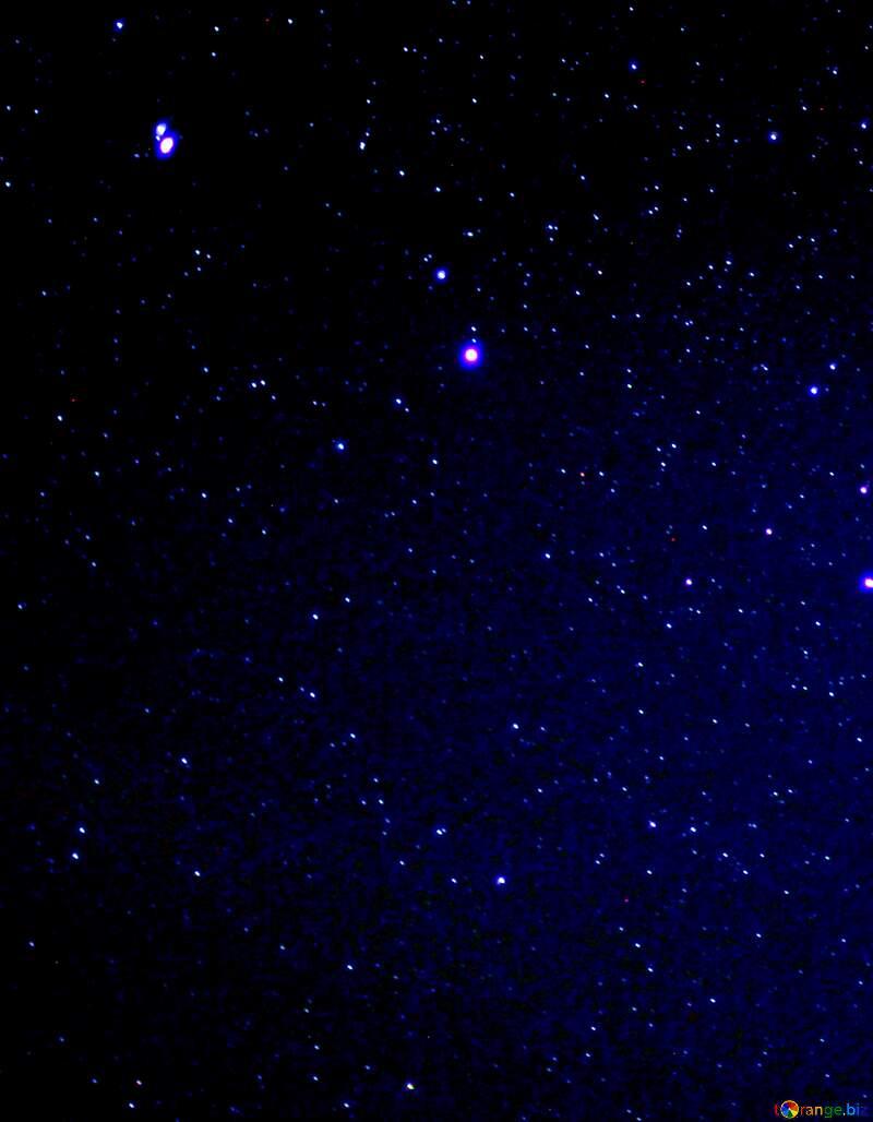 Night sky with stars №44731