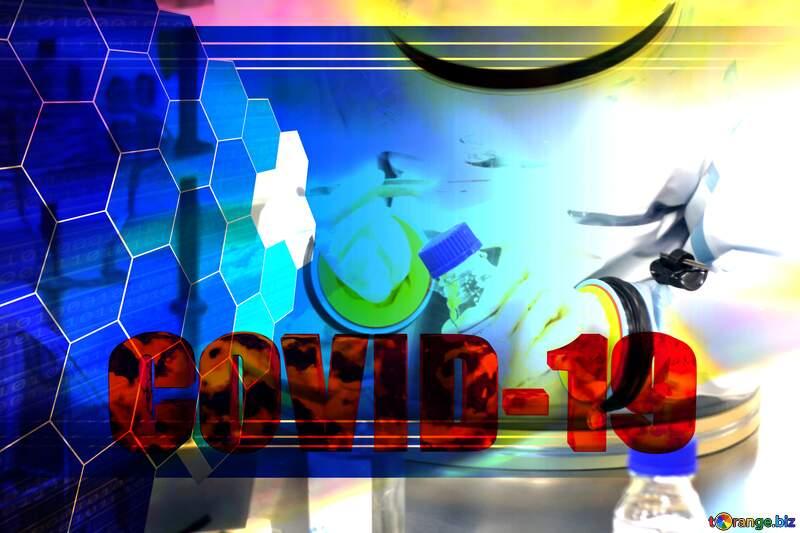 Sciense Corona virus Covid-19 Coronavirus disease 2019 2020 Tech concept №54575