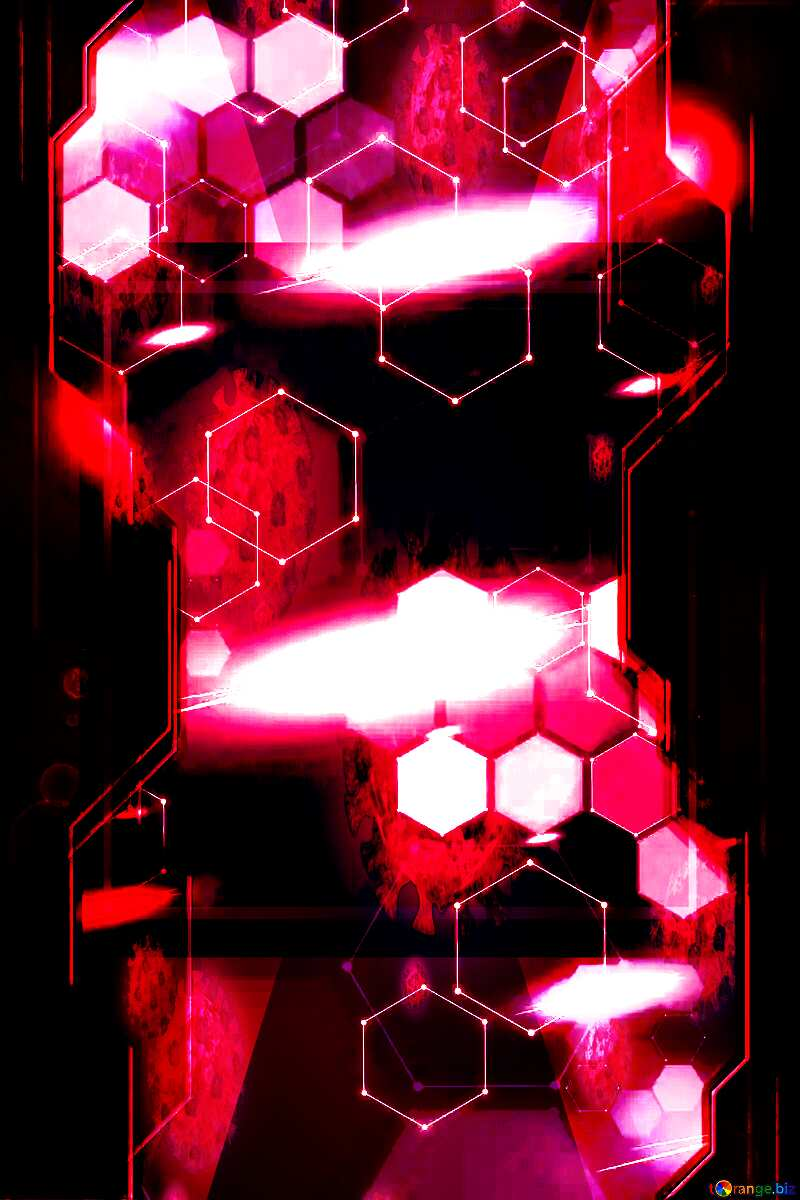 Technology business information light industry virus background №54482