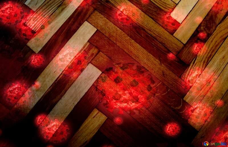 Virus on floor №10858