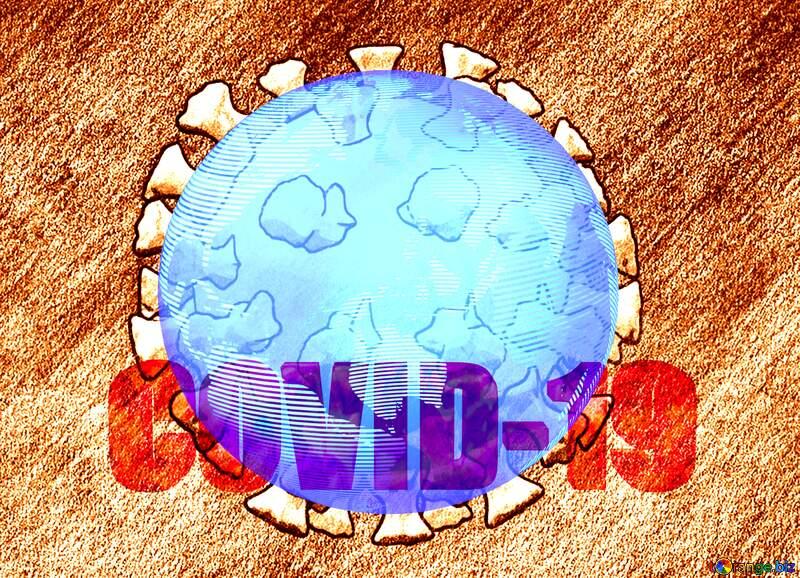 World earth Covid-19 Coronavirus art 3D render №54737
