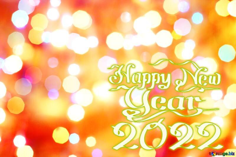 Bright background for Christmas Happy New Year 2022 №24606