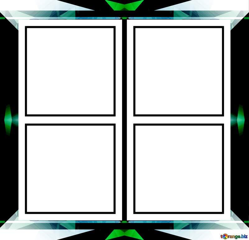 dark design frames  responsive infographic template №49675