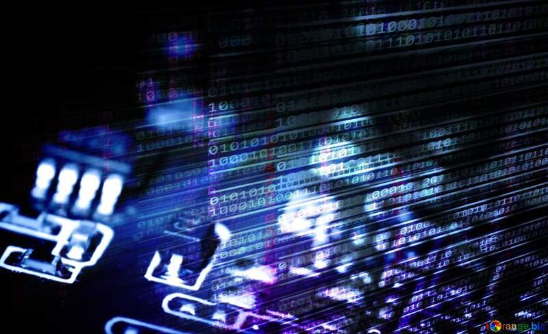 Electronic background №40845