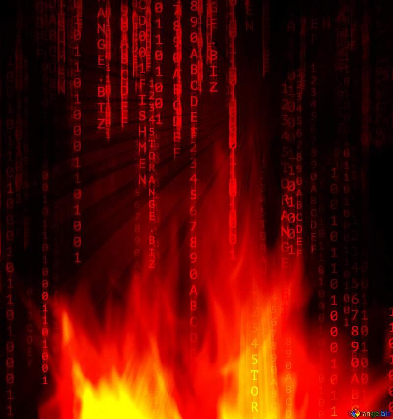 Fire matrix style №9546
