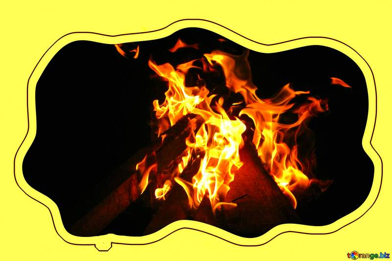 Fire Sticker №54741