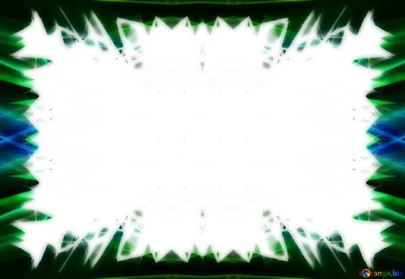 Fractal frame template №40600