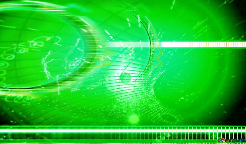 Futuristic green numbers  design concept business background №49679