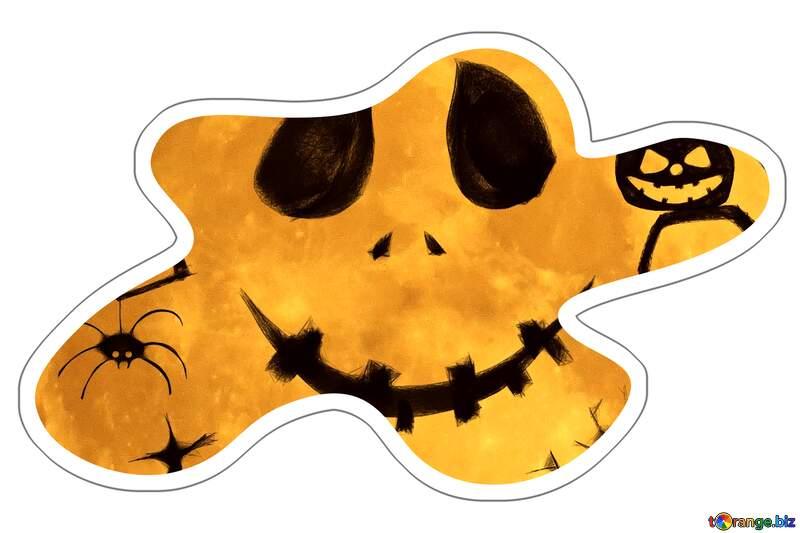 Halloween Sticker №40468