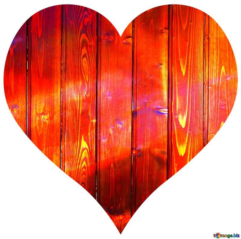 Heart wood frame №51775