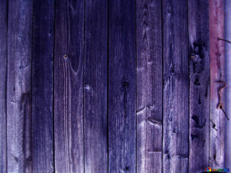 Knocked blue Wooden board.Texture. №5322