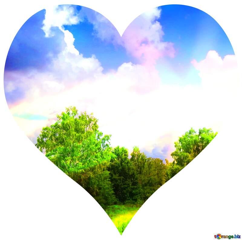 nature heart №26725