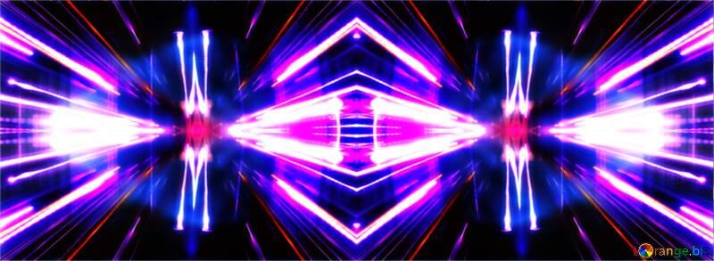Night Lights fractal cover  background №638