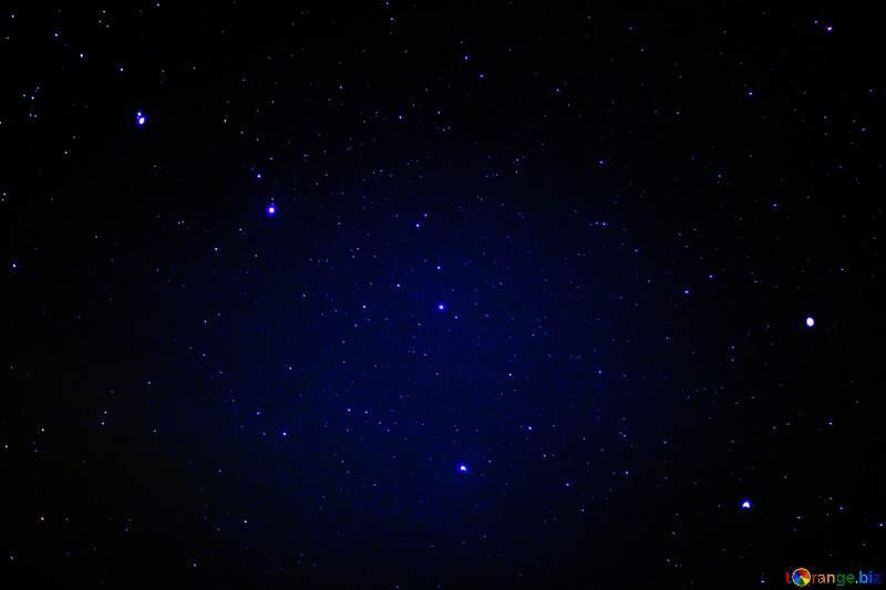 Starry blue sky №44731