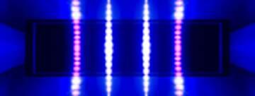 Blue gradient Lights banner template design