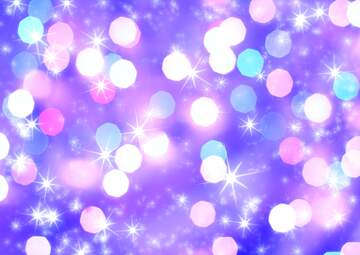 holiday clusters of bright stars twinkling background blue
