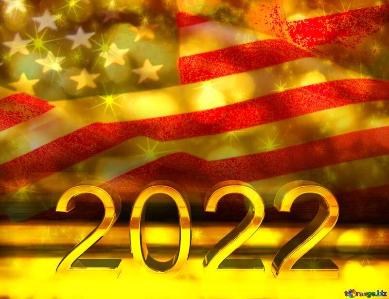 American Flag 2022 №52480