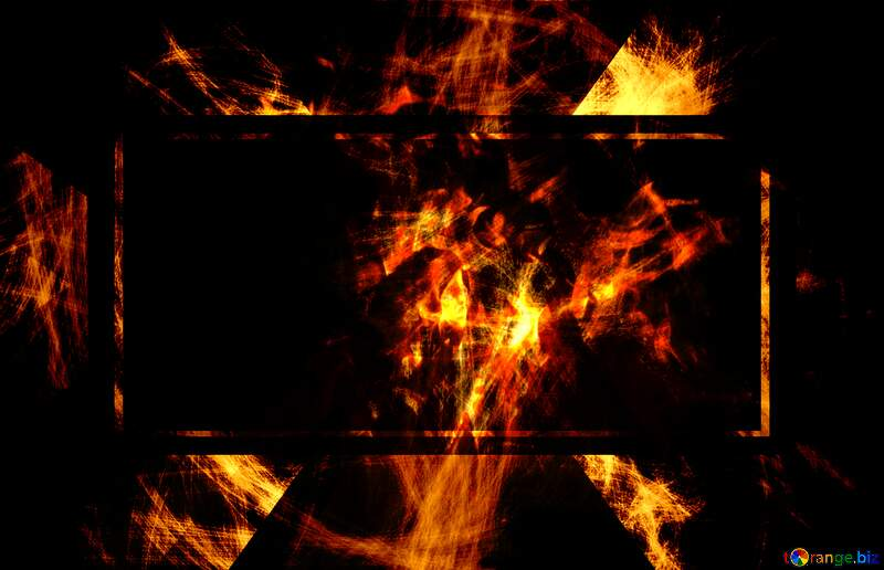 Background chaos Fire №40643