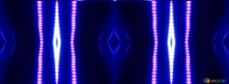 Blue gradient Lights lines background №638