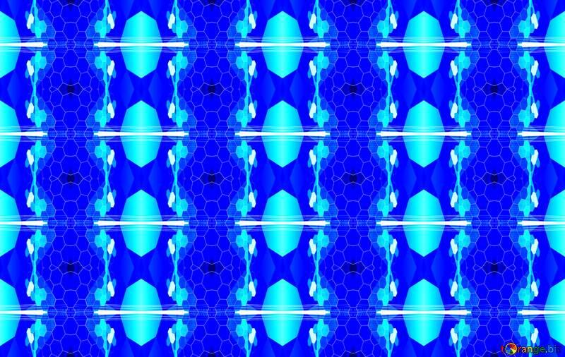 Blue information technology seamless pattern №49674