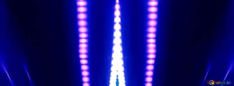 Blue neon background №638