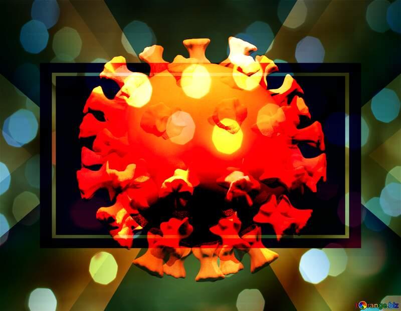Coronavirus Covid-19 holiday template №54735