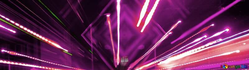 Dark Lights lines purple background №638
