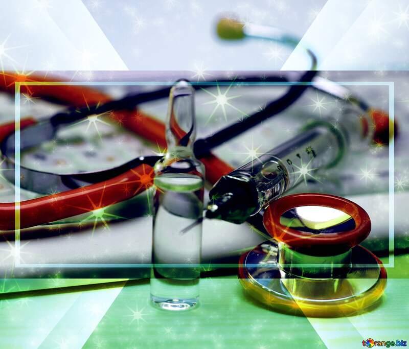 Doctors design business brochure background №19728