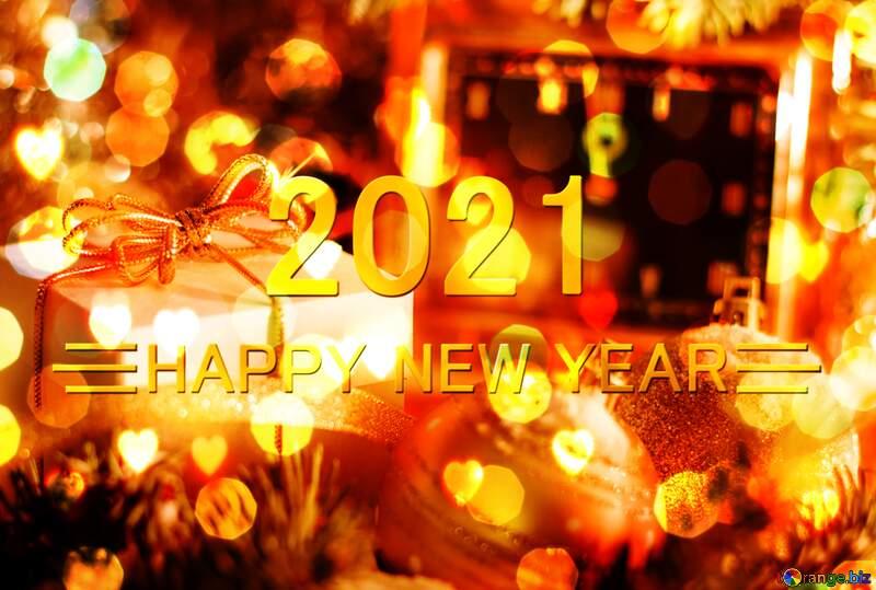 Greeting card 2021 №15364