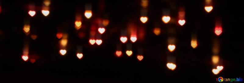 Hearts Heart shaped frame Happy New Year 2021 №37853