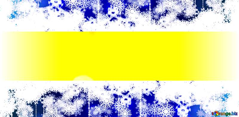 Illustration  Merry Christmas and Happy New Year  greeting card background for Web and Mobile app, art illustration template design Blue yellow №37815