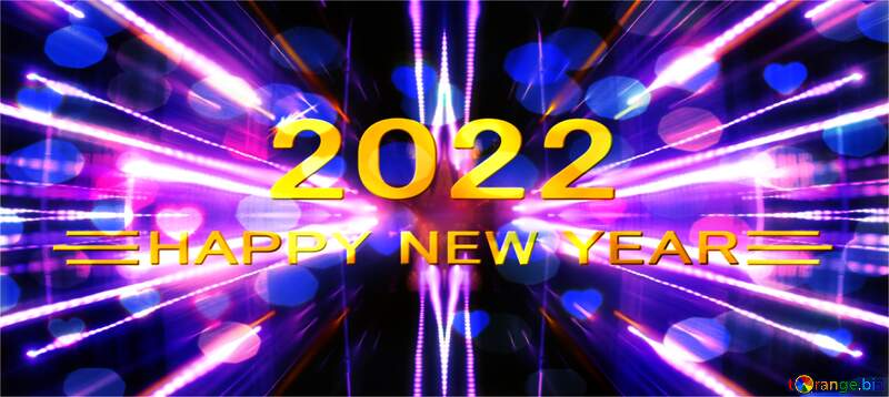 Night Lights background happy new year 2022 №638