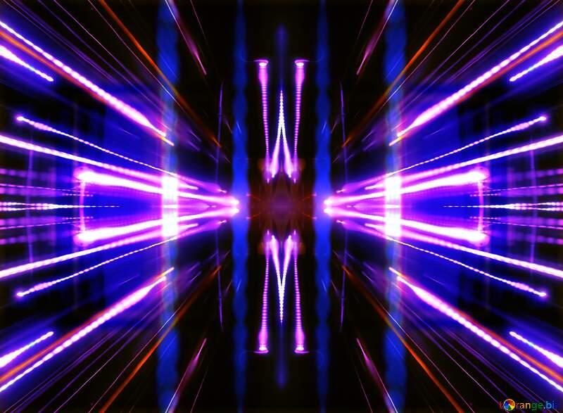 Space  Lights Blue gradient background №638