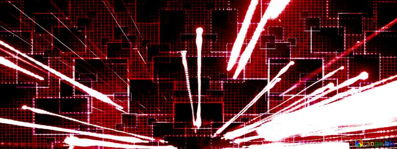 Technology red  Lights background №638