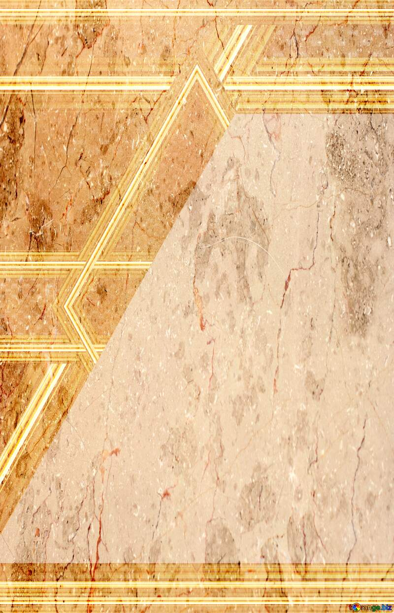 Texture of polished stone gold lines geometrical template №26996