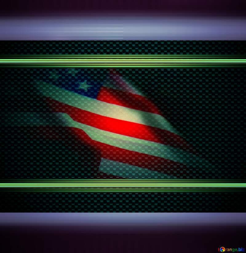 USA  Flag art  background №52480