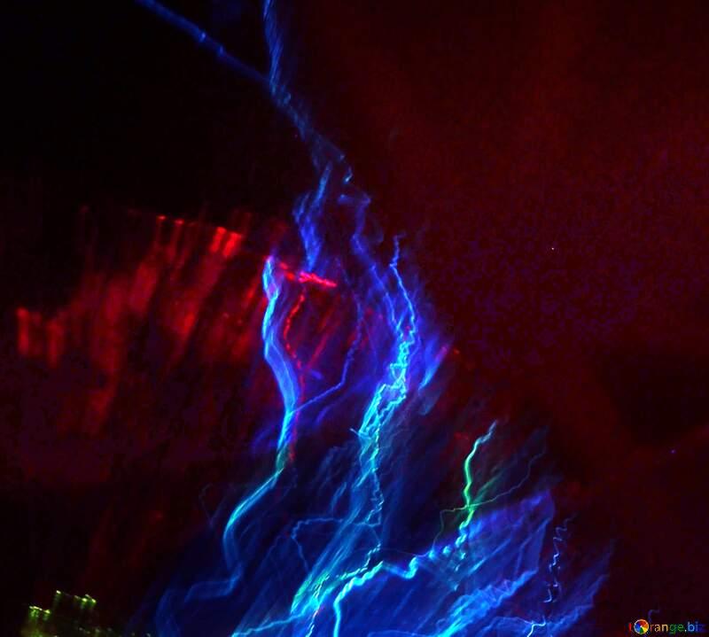 blue fractal   waves №25856