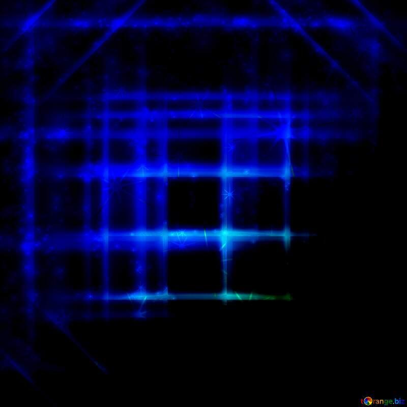 blue lines geometrical pattern №54747
