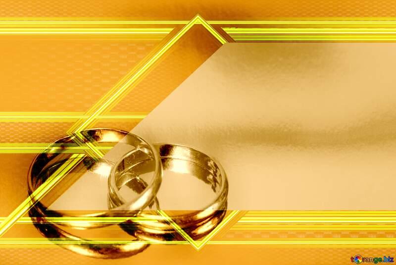 celebration wedding rings background №7143