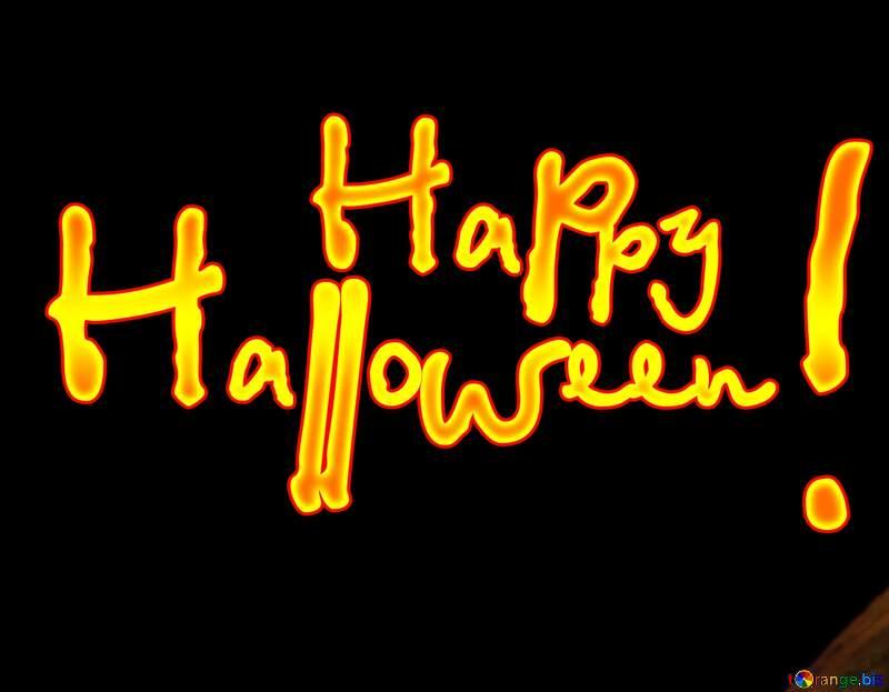 Congratulations lettering happy Halloween №5924